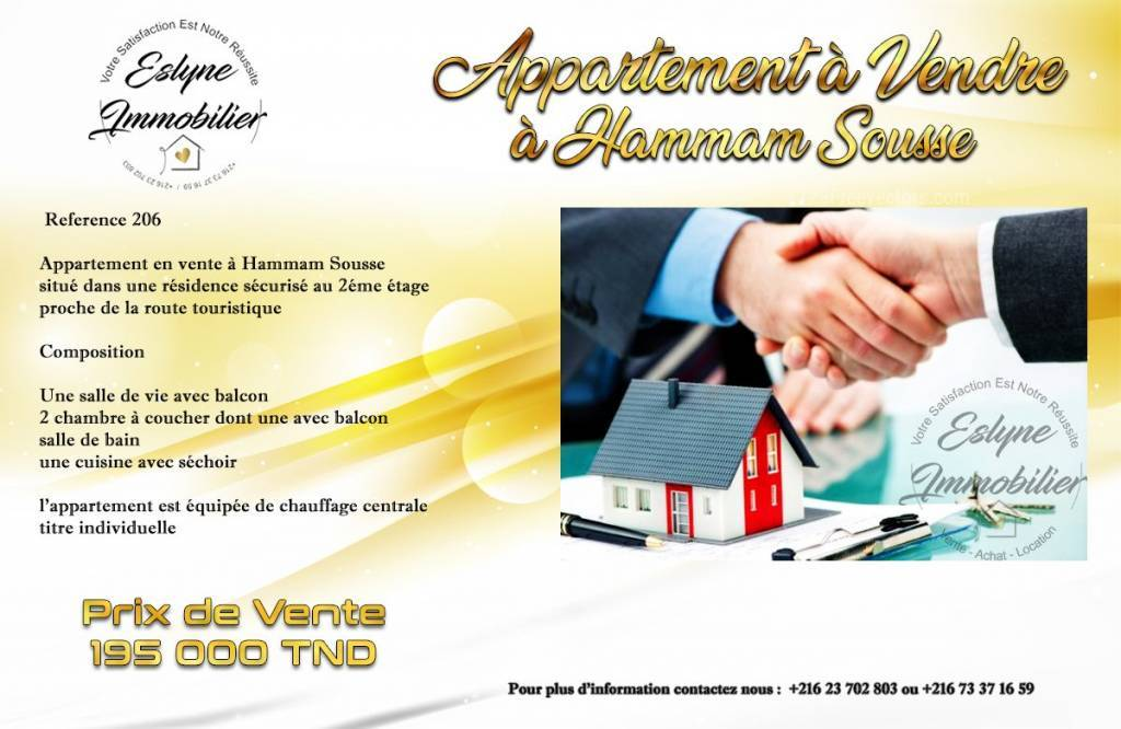 Sale Apartment Hammam Sousse